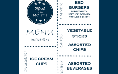 October Meal of the Month
